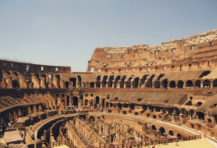 In awe of the Colosseum. #alltheancienthistorymemories