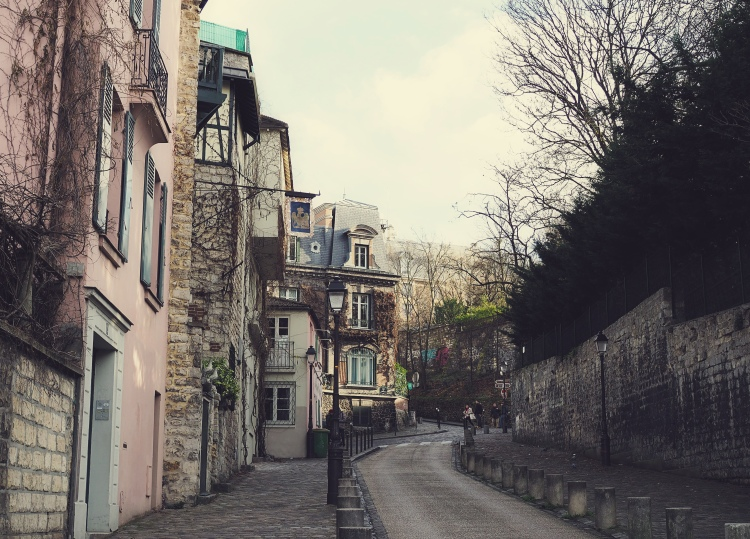 Afternoon wanders in Montmartre.